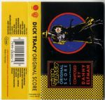 DICK TRACY (ORIGINAL SCORE) - GERMANY CASSETTE ALBUM